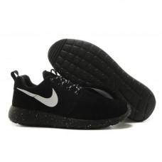 Nike Roshe Run hyp prm QS черная замша
